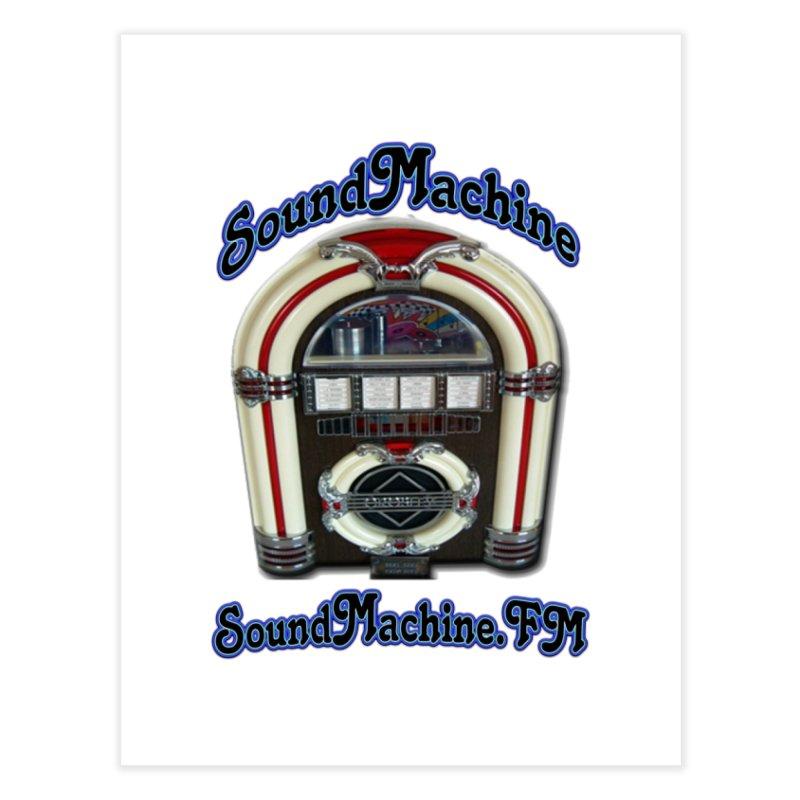 SoundMachine FM Home Fine Art Print by PainTrainPipebomb