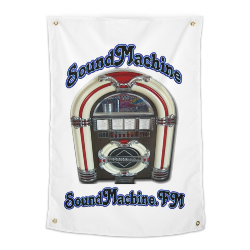 SoundMachine FM Home Tapestry by PainTrainPipebomb