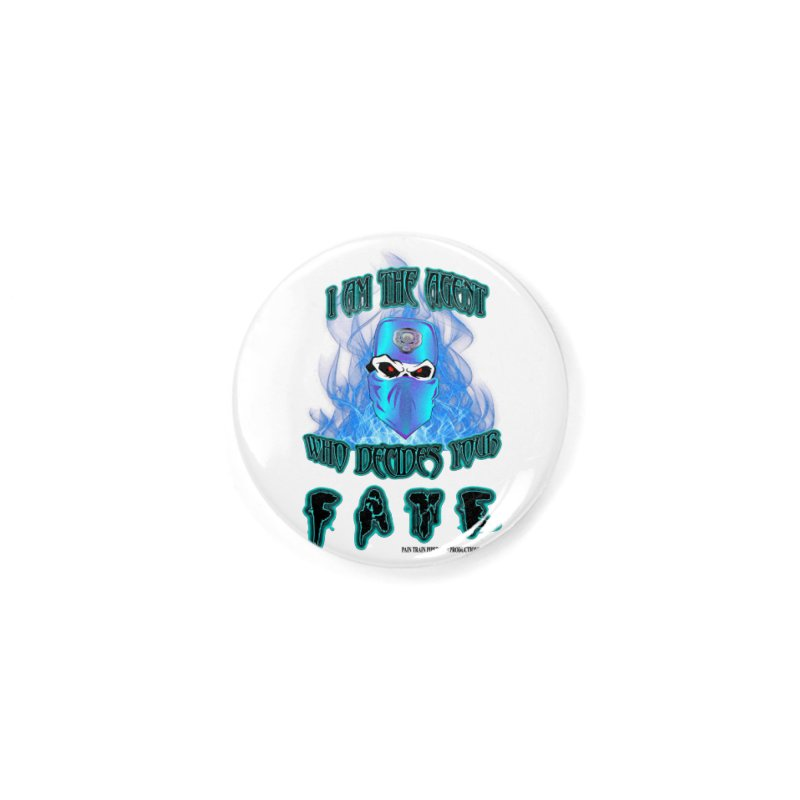 Agent of Fate Accessories Button by PainTrainPipebomb