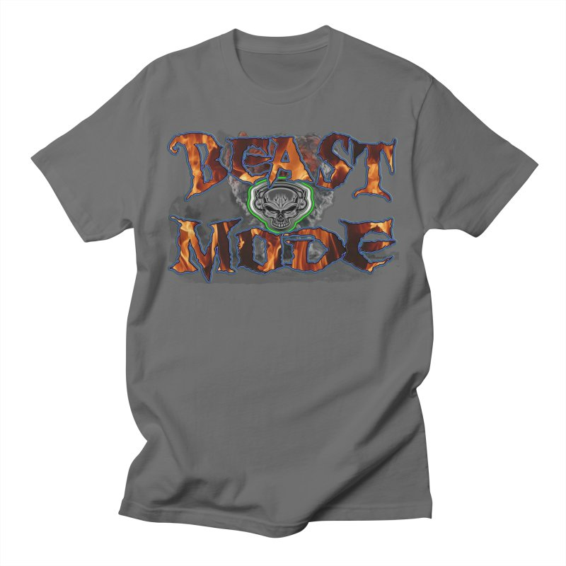 Beast Mode Men's T-Shirt by PainTrainPipebomb