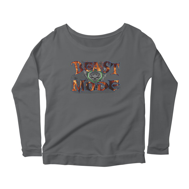 Beast Mode Women's Longsleeve T-Shirt by PainTrainPipebomb