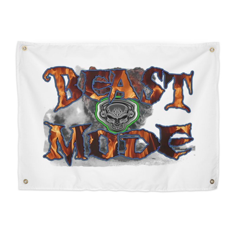Beast Mode Home Tapestry by PainTrainPipebomb