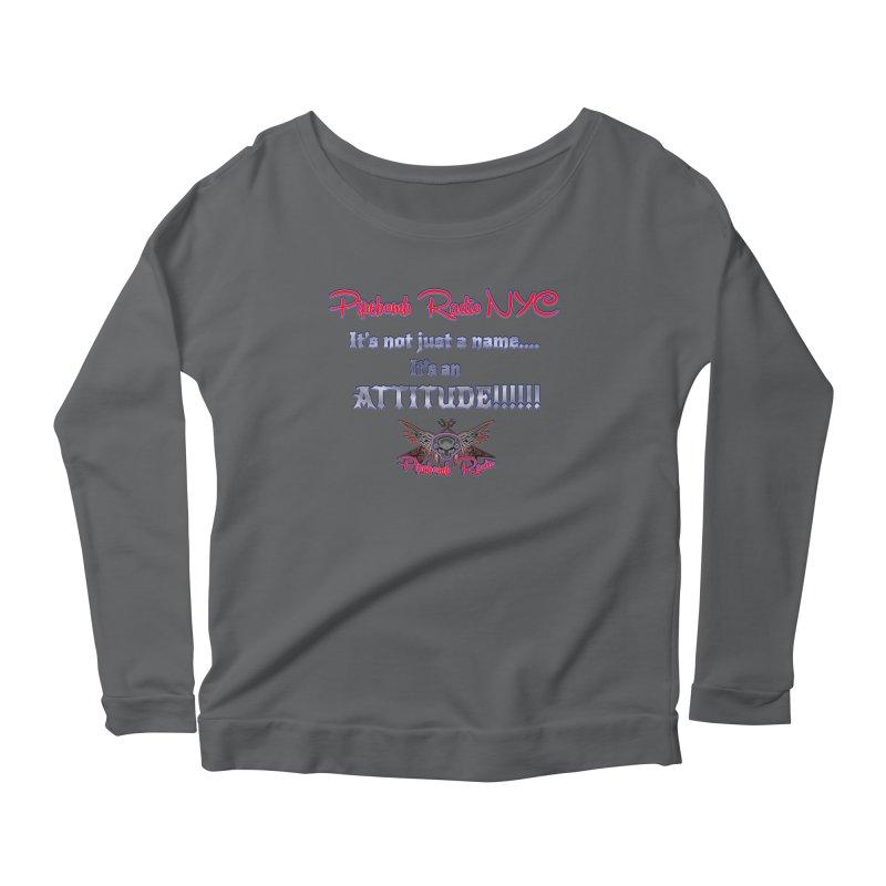 Pipebomb Radio Attitude Shirt Women's Longsleeve T-Shirt by PainTrainPipebomb