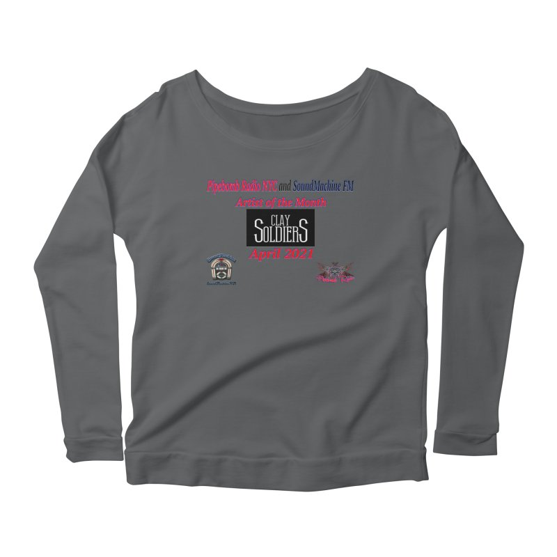 April Artist of the Month Women's Longsleeve T-Shirt by PainTrainPipebomb