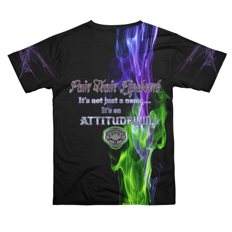 Pipebomb Attitude Men's Cut & Sew by PainTrainPipebomb