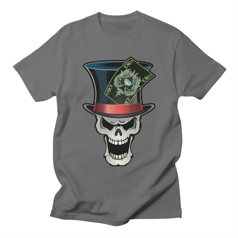 MAD HATTER Men's T-Shirt by PainTrainPipebomb