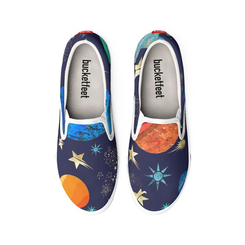 Space Sushi Men's Shoes by Painting Goat's Artist Shop