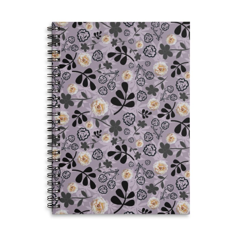 Cram Rose in Mauve Accessories Notebook by Painting Goat's Artist Shop