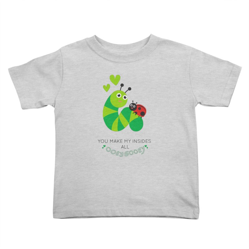 PALS OOEY GOOEY Kids Toddler T-Shirt by Pals Socks Shirts