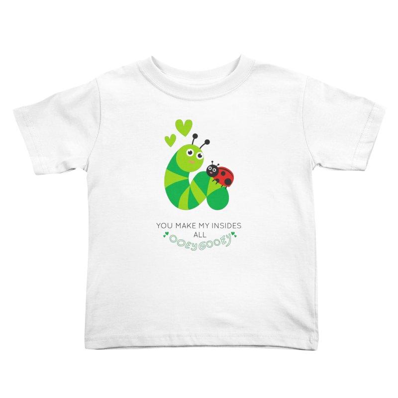PALS OOEY GOOEY Kids Toddler T-Shirt by Pals Socks Shirts