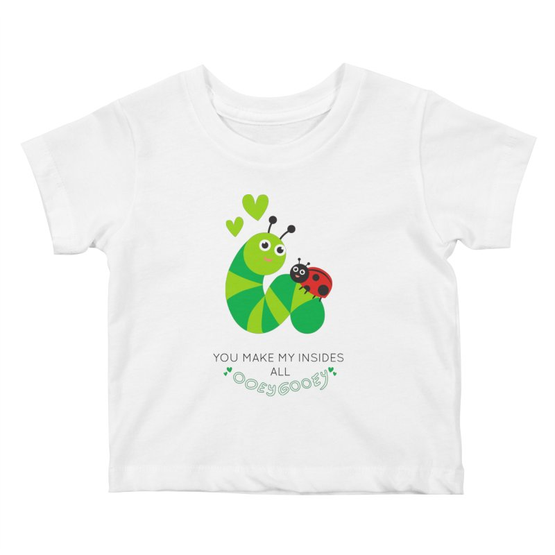 PALS OOEY GOOEY Kids Baby T-Shirt by Pals Socks Shirts