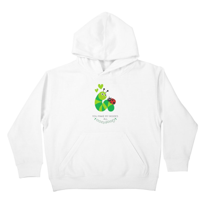 PALS OOEY GOOEY Kids Pullover Hoody by Pals Socks Shirts