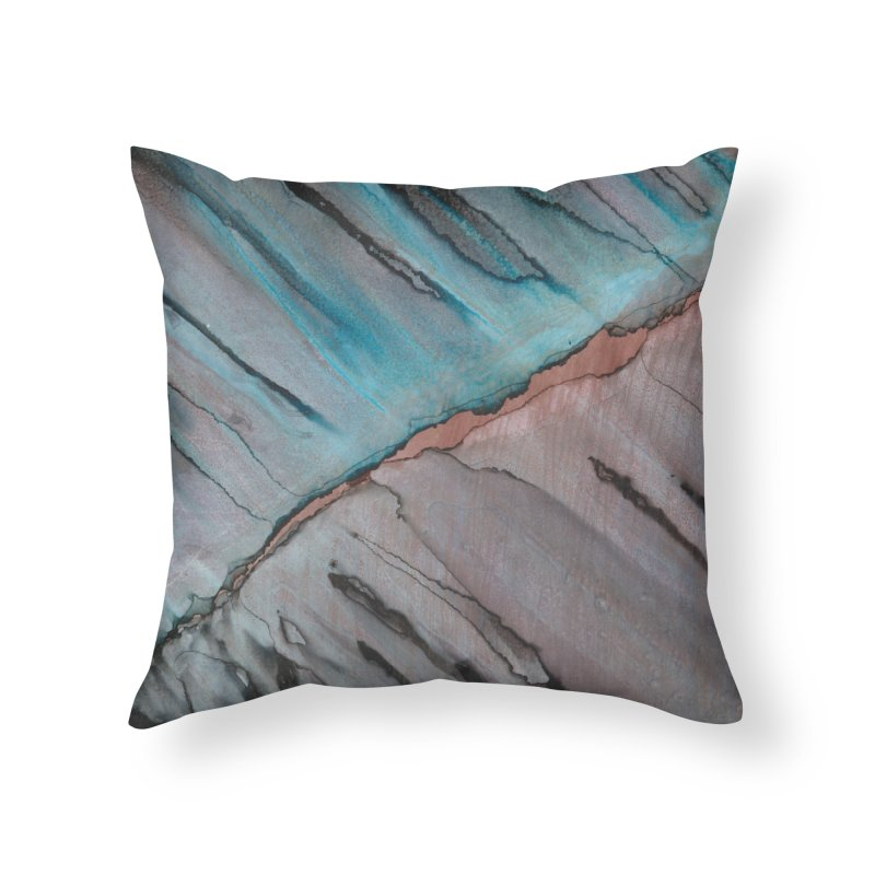 Metallic Mix in Throw Pillow by