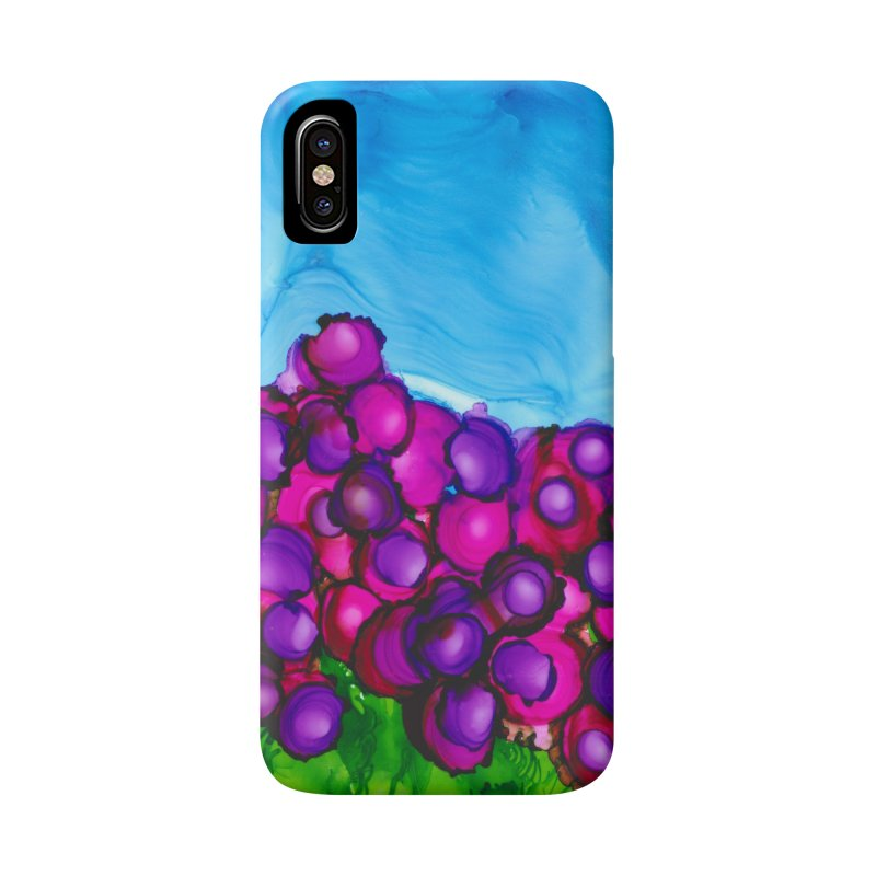 Cosmic Cranberries in iPhone X / XS Phone Case Slim by