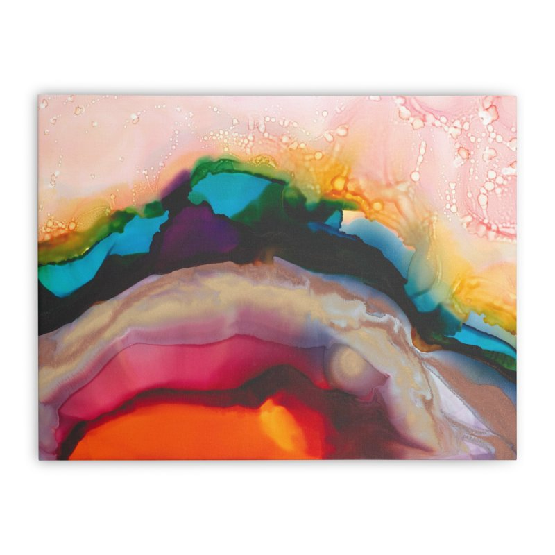 Symphony of Color in Stretched Canvas by Pamela Habing's Art