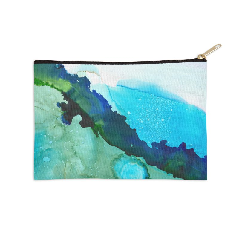 Azure Seas in Zip Pouch by