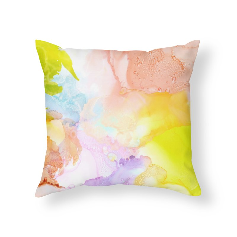 Breath of Fresh Air in Throw Pillow by