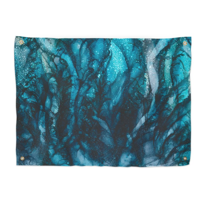 Sea of Tranquility Home Tapestry by