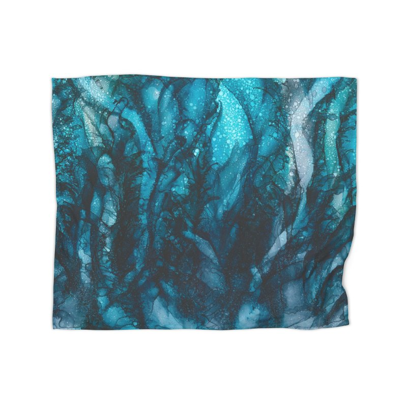 Sea of Tranquility Home Fleece Blanket Blanket by
