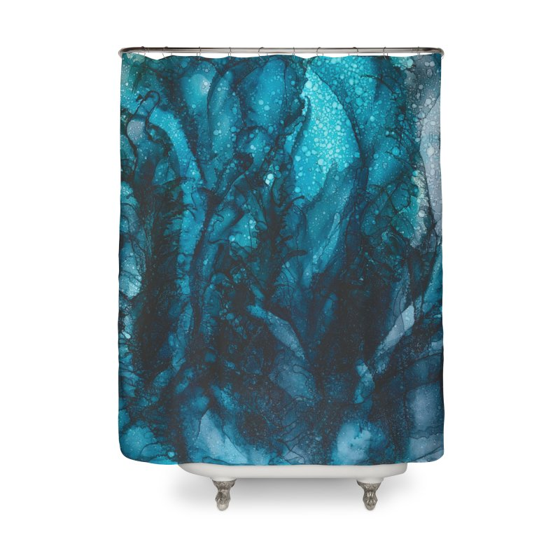 Sea of Tranquility Home Shower Curtain by Pamela Habing's Art