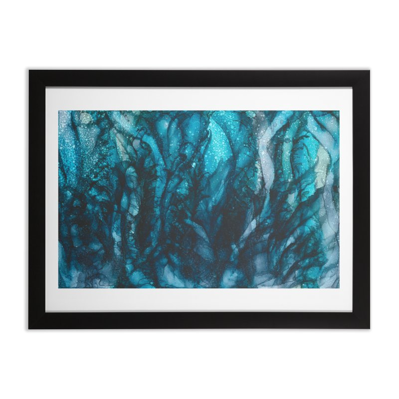 Sea of Tranquility Home Framed Fine Art Print by