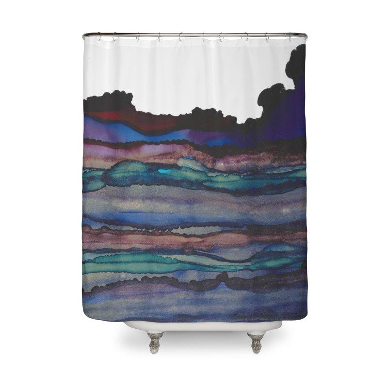 Jewelled Memories Home Shower Curtain by Pamela Habing's Art