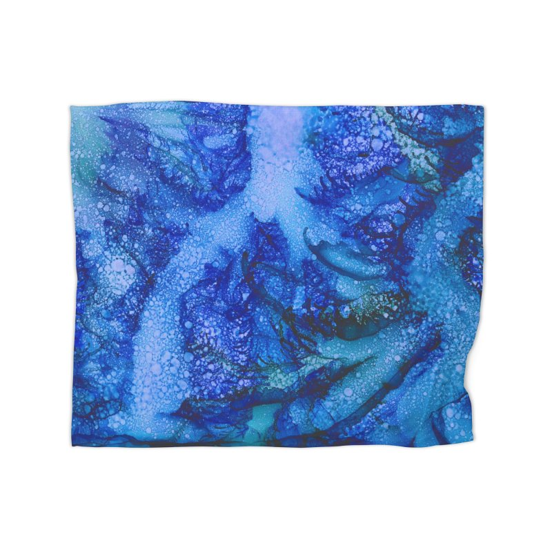 Indigo Ocean Home Fleece Blanket Blanket by