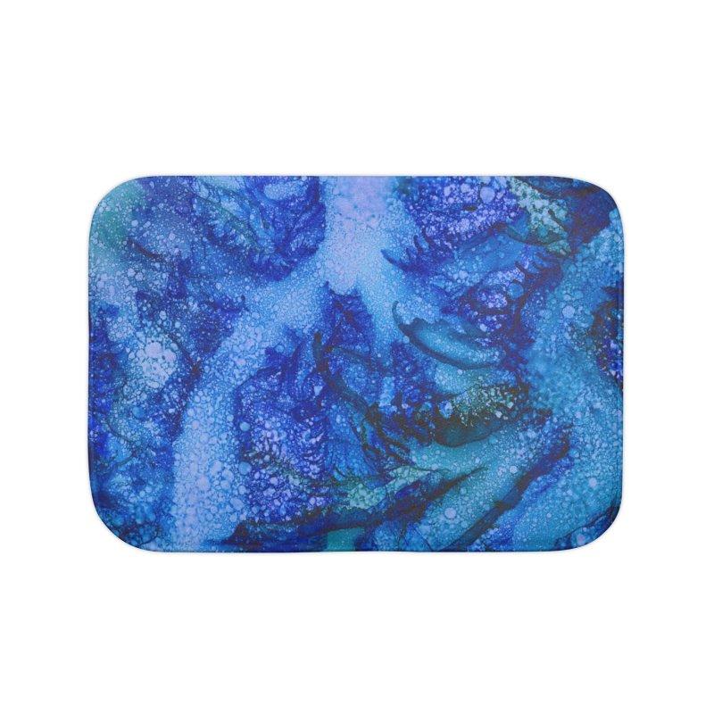 Indigo Ocean Home Bath Mat by