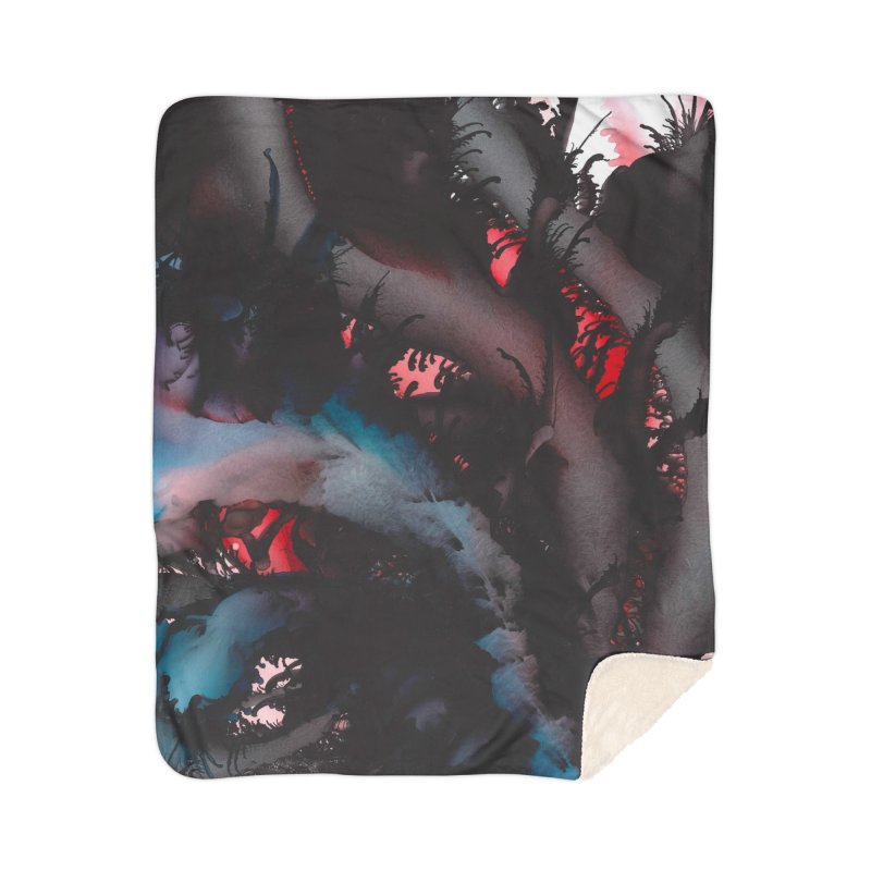 Midnight Seduction Home Sherpa Blanket Blanket by