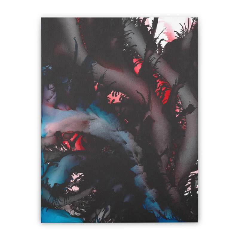 Midnight Seduction Home Stretched Canvas by