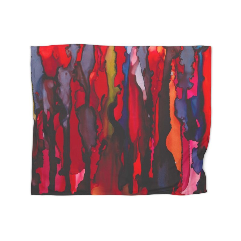 Blinding Pain Home Fleece Blanket Blanket by