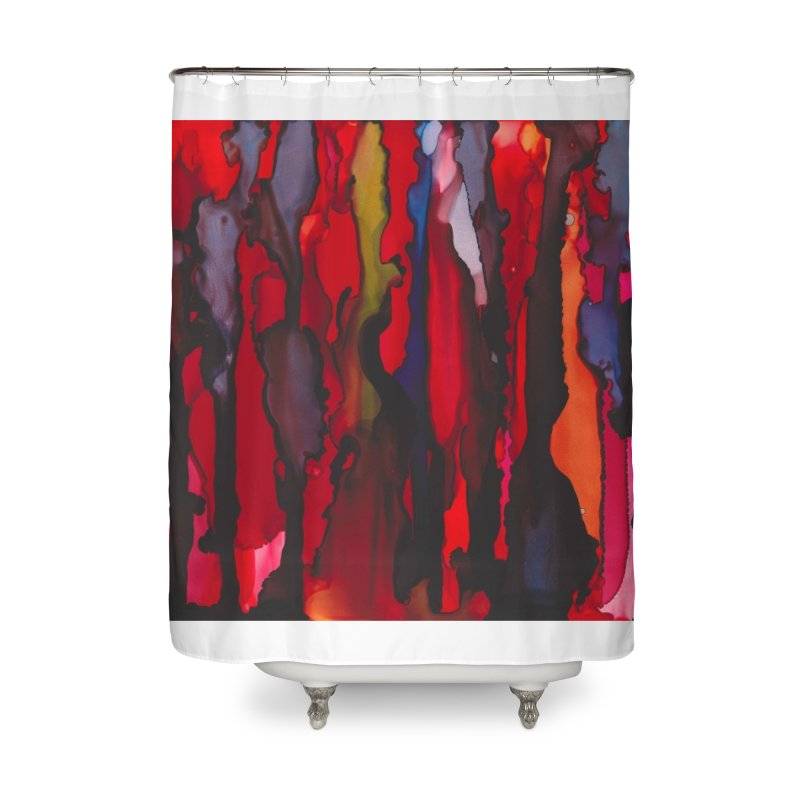 Blinding Pain Home Shower Curtain by
