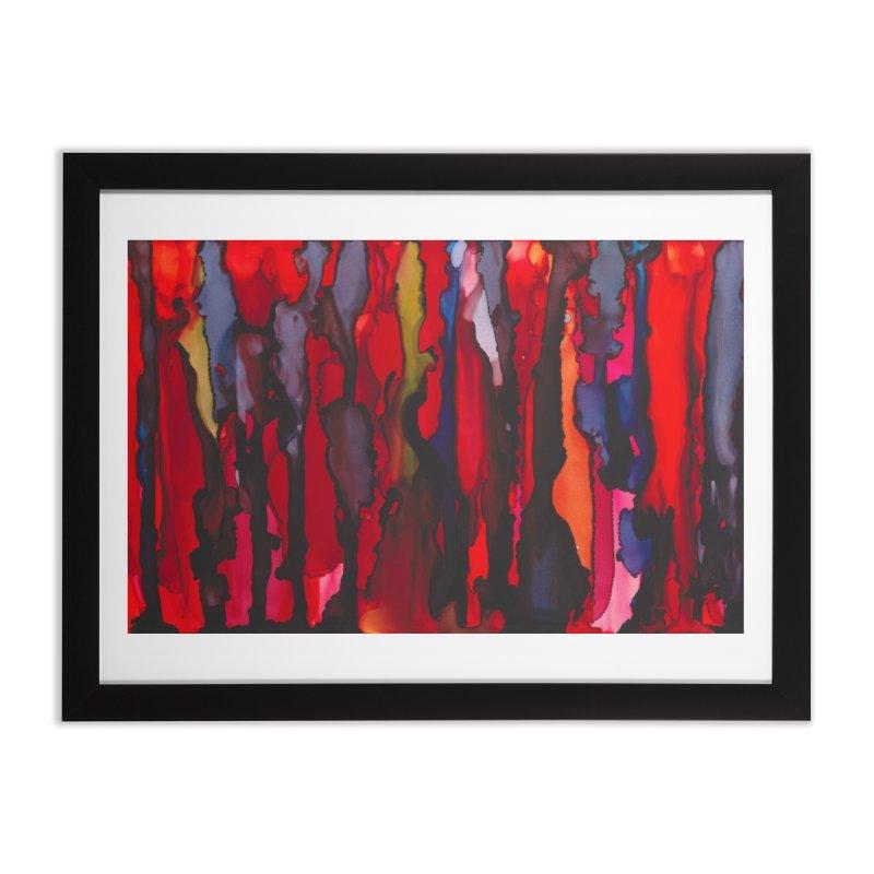 Blinding Pain Home Framed Fine Art Print by