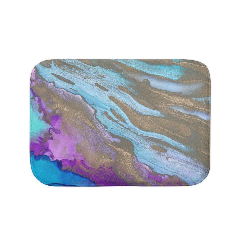Golden Sands Home Bath Mat by