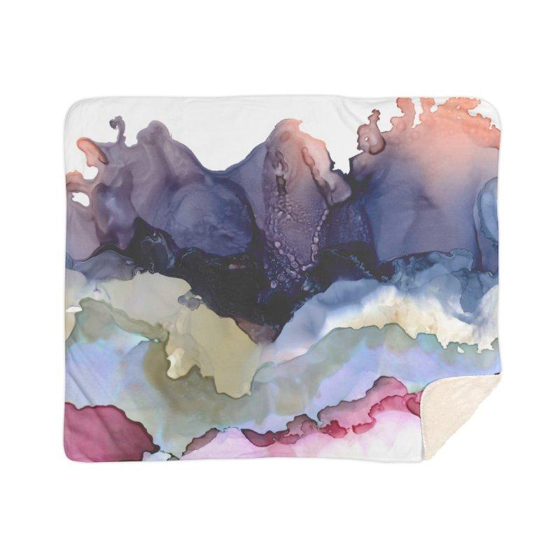 Easy Breezy Beautiful Home Sherpa Blanket Blanket by