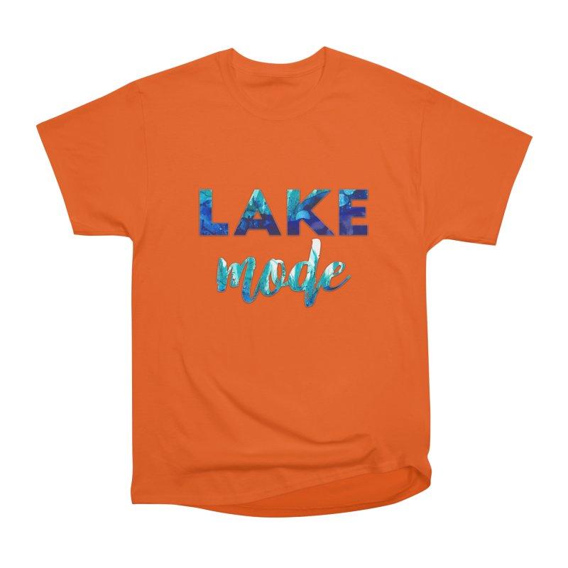 Lake Mode Women's Heavyweight Unisex T-Shirt by Pamela Habing's Art