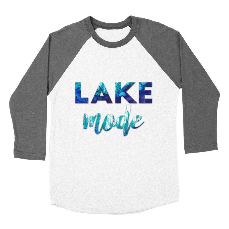 Lake Mode Women's Baseball Triblend Longsleeve T-Shirt by