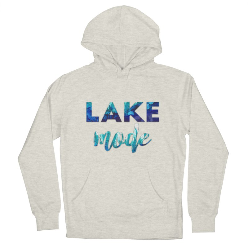 Lake Mode Women's French Terry Pullover Hoody by Pamela Habing's Art