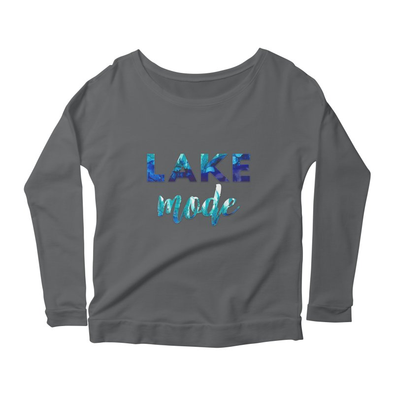 Lake Mode Women's Scoop Neck Longsleeve T-Shirt by