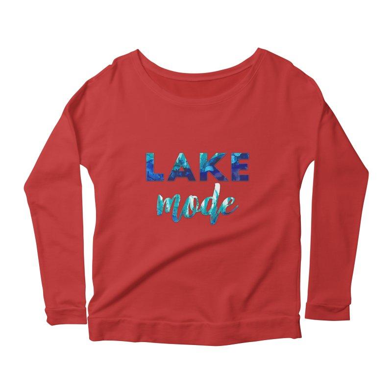 Lake Mode Women's Scoop Neck Longsleeve T-Shirt by