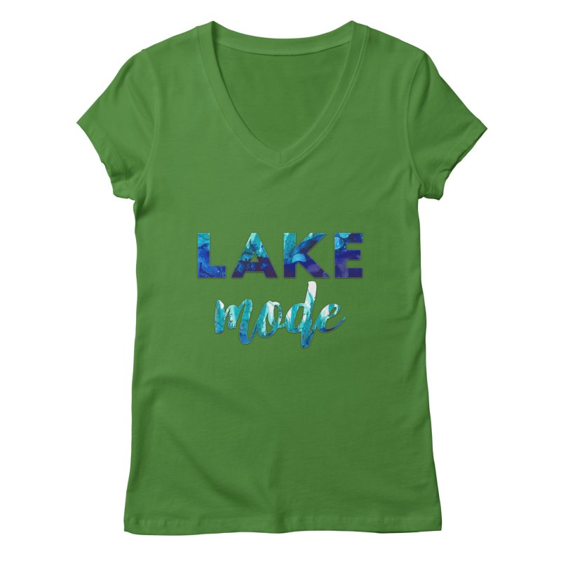 Lake Mode Women's Regular V-Neck by