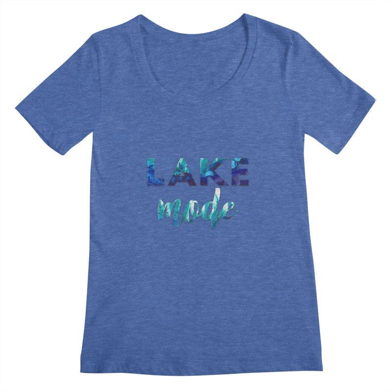 Lake Mode Women's Regular Scoop Neck by