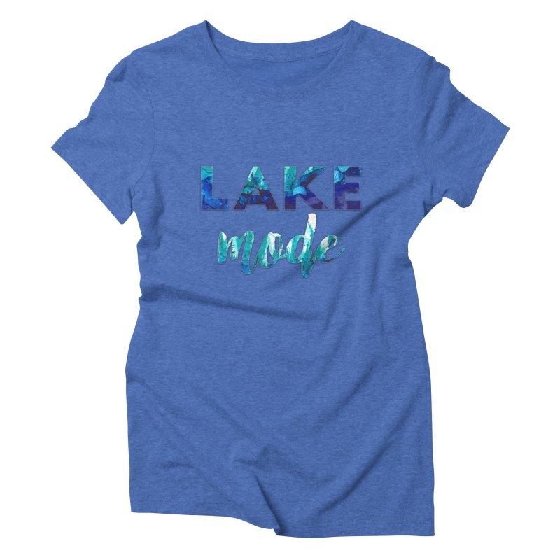 Lake Mode Women's Triblend T-Shirt by Pamela Habing's Art