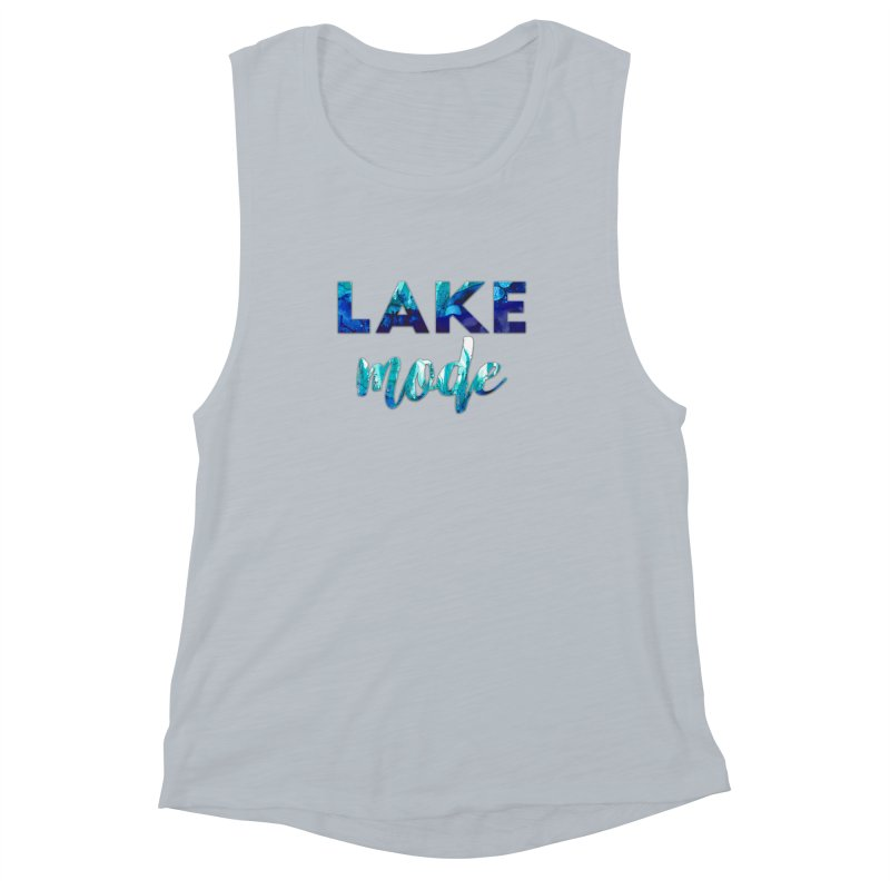 Lake Mode Women's Muscle Tank by