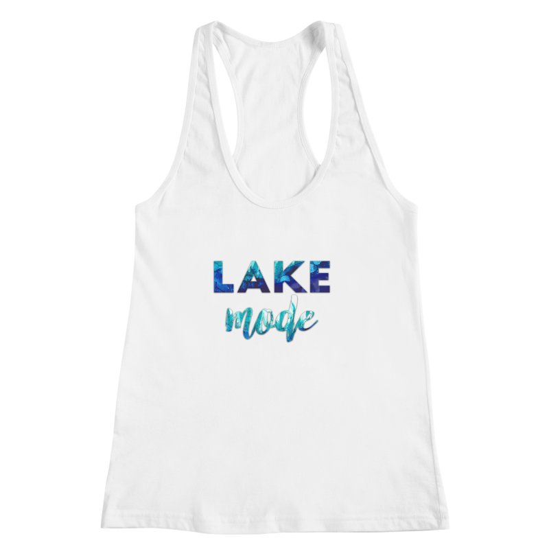 Lake Mode Women's Racerback Tank by