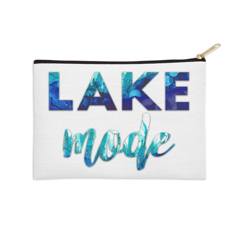 Lake Mode Accessories Zip Pouch by Pamela Habing's Art