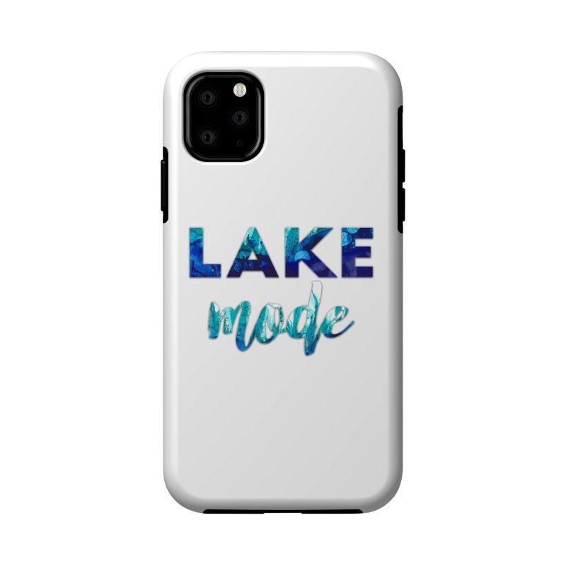 Lake Mode Accessories Phone Case by Pamela Habing's Art