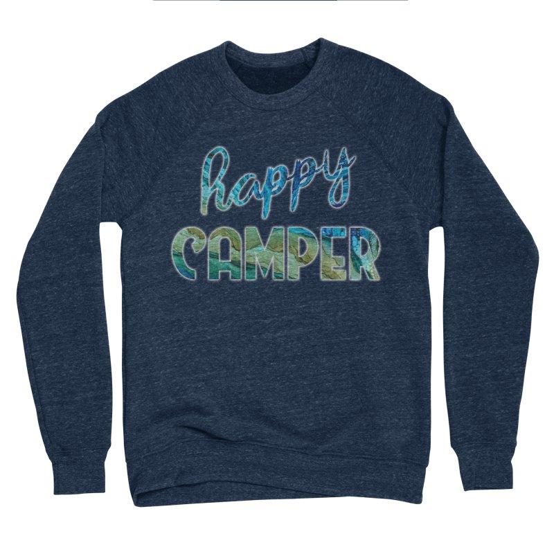 Happy Camper Women's Sponge Fleece Sweatshirt by