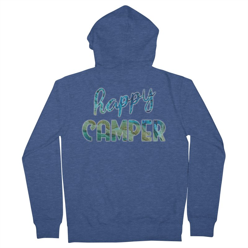 Happy Camper Women's French Terry Zip-Up Hoody by