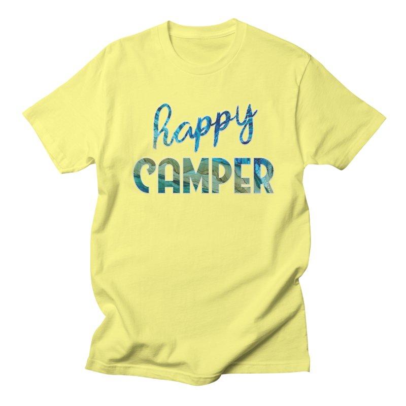 Happy Camper Women's Regular Unisex T-Shirt by